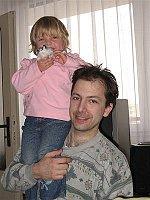 Зденек Громадка с дочкой (Фото: Архив З.Г.)