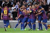 Барселонские футболисты (Фото: ЧТК)