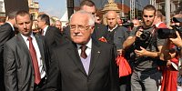 Президент страны Вацлав Клаус (Фото: ЧТК)