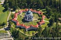 Костел Святого Яна Непомуцкого на Зеленой Горе (Фото: CzechTourism)
