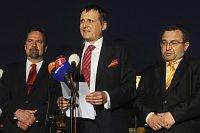 Радек Йон, Вит Барта и Йозеф Добеш (Фото: ЧТК)