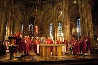 Традиционная торжественная литургия в кафедральном соборе св. Вита, Вацлава и Войтеха в Пражском граде (Фото: пресс-сервис Navalis)