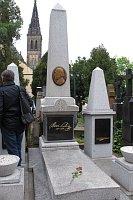 Могила Б. Сметаны на вышеградском кладбище (Фото: Кристина Макова, Чешское радио - Радио Прага)