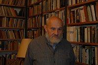 Чешский этнолог, преподаватель Карлова университета, Витезслав Штайнохр (Фото: Эва Туречкова)