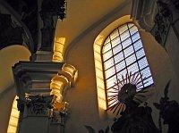 Интерьер костела Святой Маргариты (Фото: Мирослав Швец, Чешское радио)