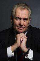 Официальная фотография Милоша Земана (Фото: ЧТК)