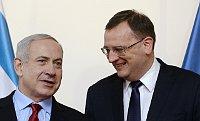 Петр Нечас и Биньямин Нетаньяху (Фото: ЧТК)