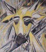 Михаил Ларионов: «Голова быка» (Фото: Национальная галерея)