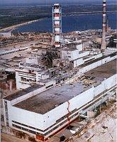 АЭС Чернобыль после взрыва, 1986 г.