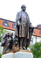 Памятник Вудро Уильсону в Праге (Фото: ЧТК)