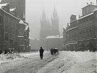 Ян Лаушманн: Староместская площадь, 1929 г. (Источник: коллекция Шойфлер)