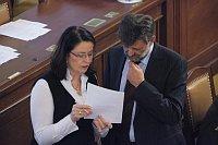 Мирослава Немцова и Ян Кубице (Фото: Архив Правительства ЧР)