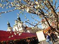 Пасхальная ярмарка на Староместской площади в Праге