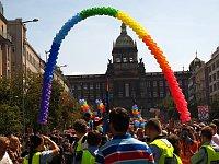Prague Pride в 2012 г. (Фото: Кристина Макова, Чешское радио - Радио Прага)