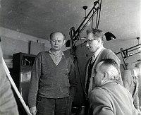 Антонин Гонзик (в центре). Фото: Архив Пражского транспортного предприятия