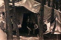 Группа трэмпов «Манесацы» (Mánesáci) в лагере над рекой Малшей (1934 - 1935 гг.)