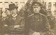Т. Г. Масарик и капитан Степанов