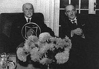 Томаш Масарик и Эдвард Бенеш (Фото: Архив Чешского радио)