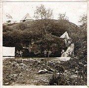 Скауты в Прокопской долине в 1911 г. (Фото: Антонин Беньямин Свойсик, архив В.Носка - Windy)