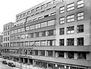 Здание Чехословацкого радио, 30-е годы 20-го века