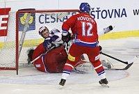 Чешские хоккеисты играли с россиянами успешно (Фото: ЧТК)