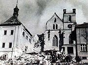 Эмаузский монастырь, 14-го февраля 1945-го г.