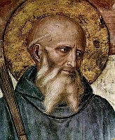Святой Бенедикт (Фото: Wikimedia Commons, Free Domain)