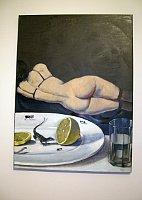 Виктор Пивоваров: «Ящерка и лимон» (Фото: Лорета Вашкова, Чешское радио - Радио Прага)