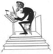 Э. Направник на карикатуре П. Робера