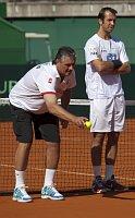 Ярослав Навратил и Радек Штепанек (Фото: ЧТК)