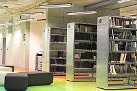 Интерьер национальной технической библиотеки