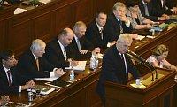 Милош Земан в Палате депутатов (Фото: ЧТК)
