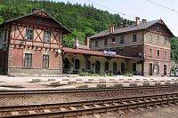 Железнодорожный вокзал в Усти-над-Орлици