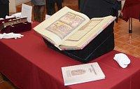 Вышеградский кодекс (Фото: Эва Ходкова, Национальная библиотека)