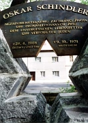 Памятник Оскару Шиндлеру в городе Свитавы