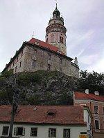 Замок в городе Чешский Крумлов