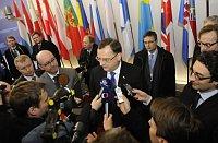 Премьер-министр ЧР Петр Нечас во время саммита ЕС в Брюсселе (Фото: ЧТК)