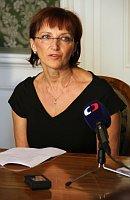 Министр Алена Ганакова (Фото: Барбора Кментова, Чешское радио - Радио Прага)