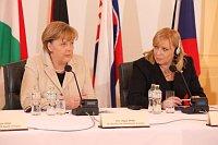 Ангела Меркель и Ивета Радичова (Фото: Архив Правительства ЧР)