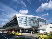 Визуализация аэропорта (Фото: Архив AERO Vodochody)