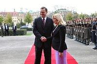 Премьер Нечас со своим словацким коллегом Радичовой (Фото: Архив Правительства ЧР)