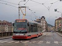 Трамвай `koda ForCity в Праге (Фото: Jan Groh, Wikimedia Commons, License CC BY-SA 3.0)