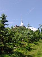Телебашня на горе Ештед (Фото: Милош Турек, Чешское радио - Радио Прага)