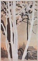 Войтех Прейсиг, «Градчаны весной», 1907 г., Национальная галерея в Праге