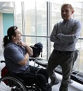 Актеры Ян Потмешил и Петр Чтвртничек (Фото: ЧТК)