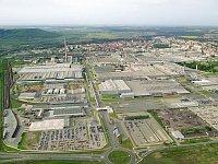 Завод «Шкода Авто» в городе Млада Болеслав
