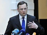Премьер-министр Чешской Республики Петр Нечас (Фото: ЧТК)