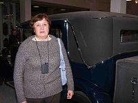 Посетительница музея Татьяна Староверова из Казани (Фото: Алексей Пономарев)