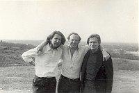 Ромас Катилюс, Иосиф Бродский и Томас Венцлова в Литве, 1972 г. (Фото: Marija Etkind / архив - Ramūnas Katilius and Elė Katilienė / репрофото Stanford University)