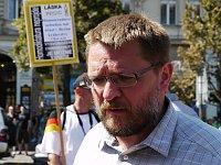 Михал Семин, председатель консервативной гражданской организации D.O.S.T. (Фото: Алексей Пономарев)